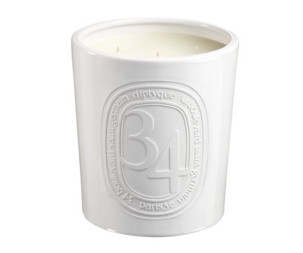 34 Boulevard Saint Germain interior & exterior candle