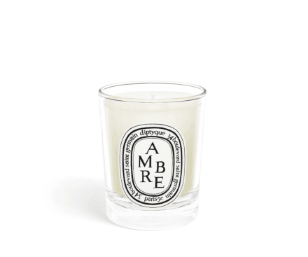 Ambre / Amber small candle