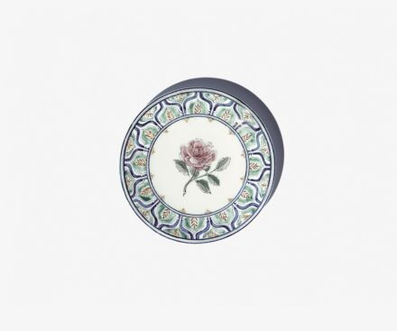 Rose side plate