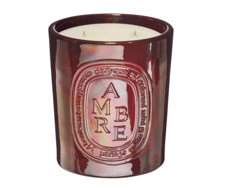Limited-edition Ambre / Amber interior & exterior candle