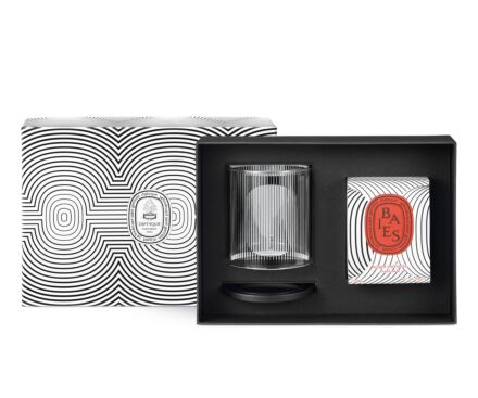 Limited Edition Baies Candle & Candle Holder Set