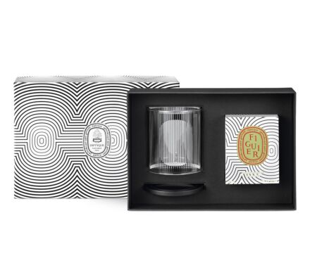 Limited Edition Figuier Candle & Candle Holder Set