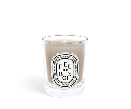 Feu de Bois / Wood Fire small candle