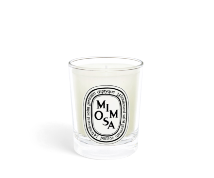 Mimosa small candle