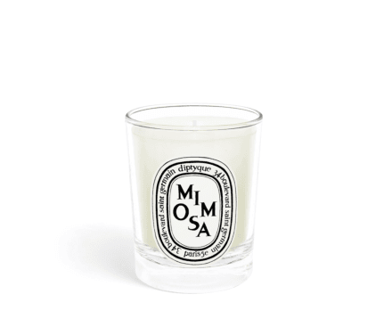Mimosa small candle 70g