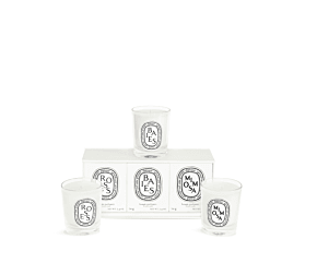 3 small candles set