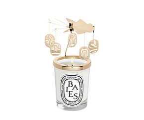 Carousel set with Baies / Berries 190g Candle - Limited Edition