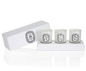 Set of Mini candles (Berries, Fig Tree, Roses)