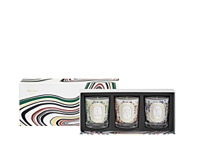 Set of Three Holiday Scented Candles - Limited Edition - 70g
