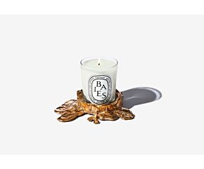 GOLD BRONZE CANDLE HOLDER S