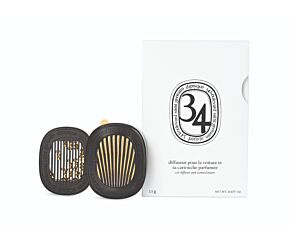 Car diffuser with 34 Boulevard Saint Germain insert