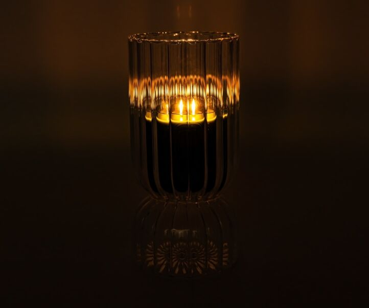 INDOOR & OUTDOOR XXL COASTED CANDLE HOLDER
