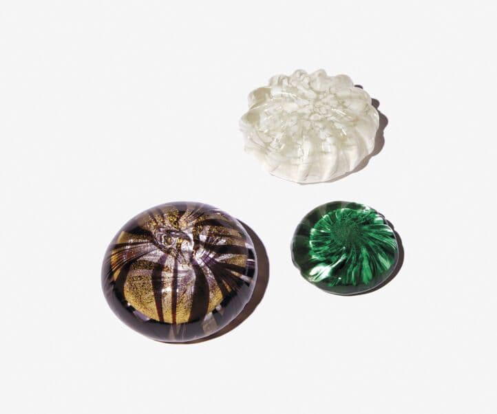 RECYCLED GLASS PAPERWEIGHT EXTRALARGE MODEL