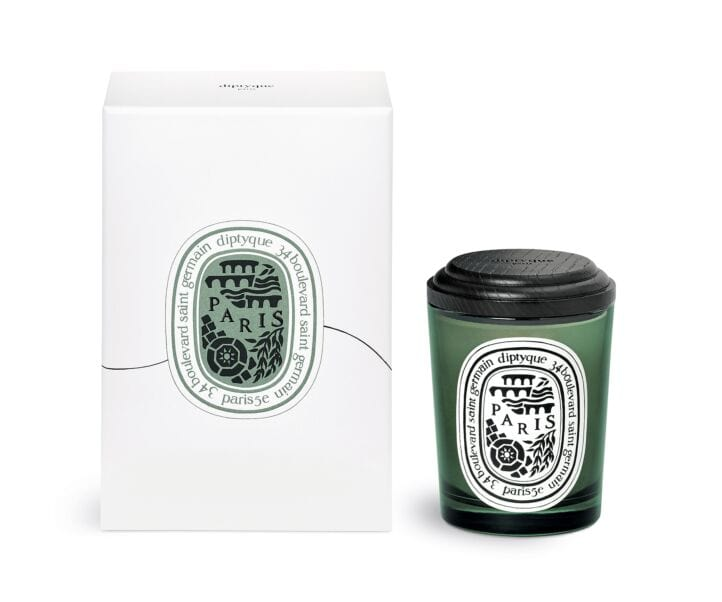 Paris Limited Edition Scented candle with lid/stand 190G