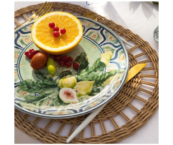 OVAL BRAID PLACE MAT