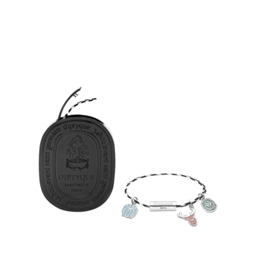 Do Son perfumed bracelet with three charms