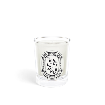 Feuille de Lavande small candle 70g