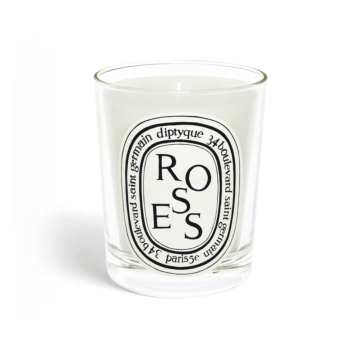 Roses candle