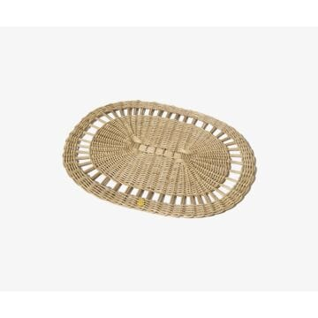 OVAL WICKER PLACEMAT