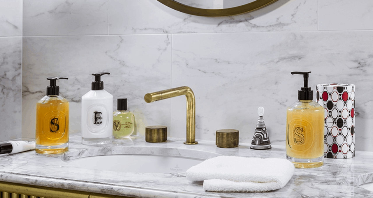 image of art of bodycare in a clean bathroom setting