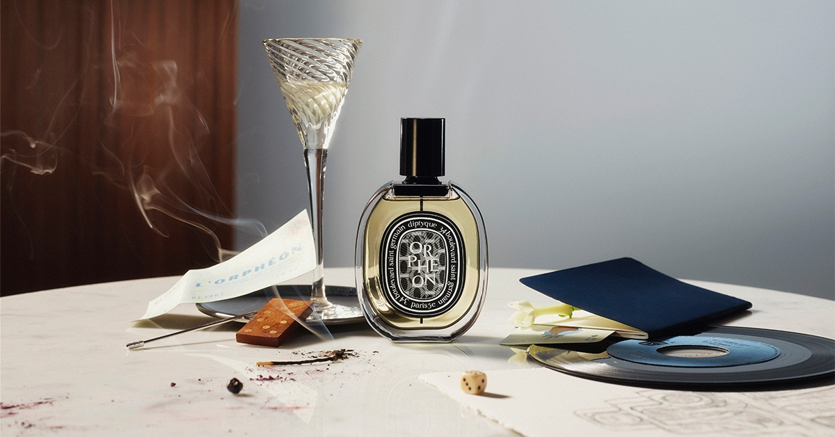 visual of Orpheon diptyque's newest fragrance