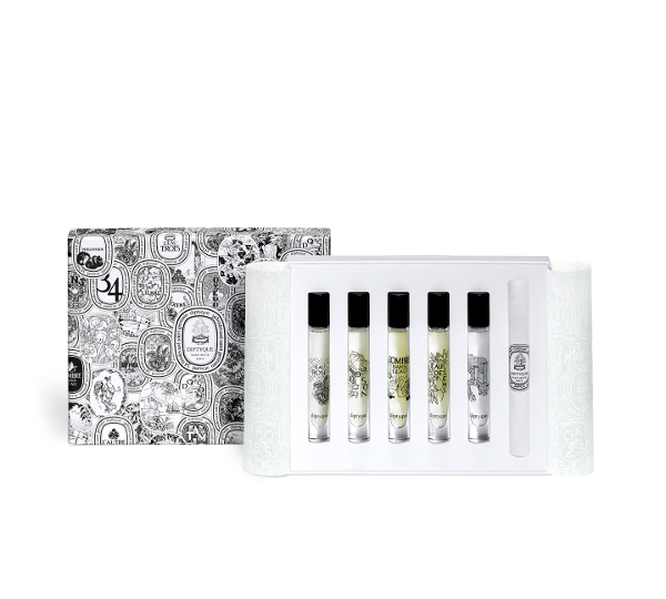 Coffret de 5 eaux de toilette 7.5ml